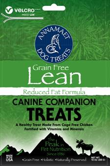 Lean Grain Free Reduced Fat Formula Treats