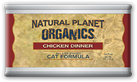 Natural Planet Organics Canned Cat Foods