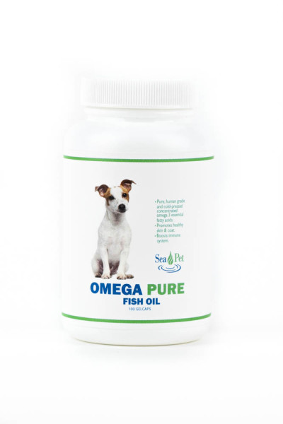 Omega Pure Capsules 100 Count