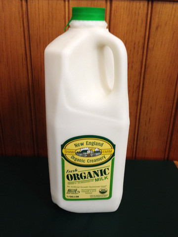 Organic 2% Milk- Half Gallon