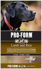 Pro-Form Lamb and Brown Rice