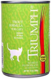 Triumph Canned Cat Foods