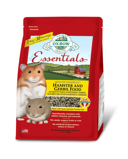 Essentials - Hamster and Gerbil Food